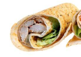 Thaise wraps met kip