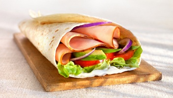 Mexicaanse wraps met kip(filet)